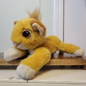 1993 Authentic Simba Lion King Disney Plush